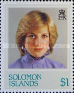 [The 21st Anniversary of the Birth of Diana, Princess of Wales, 1961-1997, Typ MG]