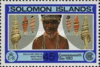 [Commonwealth Day - Shells, Typ NA]