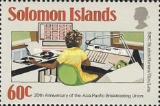 [The 20th Anniversary of Asia-Pacific Broadcasting Union, Typ OF]