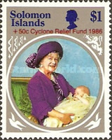 [Cyclone Relief Fund - Issue of 1985 Surcharged, type OR1]