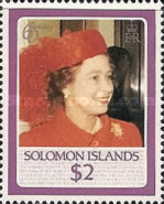 [The 60th Anniversary of the Birth of Queen Elizabeth II, type PR]