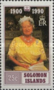 [The 90th Anniversary of the Birth of Queen Elizabeth the Queen Mother, 1900-2002, Typ VP]