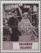 [The 90th Anniversary of the Birth of Queen Elizabeth the Queen Mother, 1900-2002, Typ VQ]