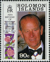 [The 65th Anniversary of the Birth of Queen Elizabeth II and the 70th Anniversary of the Birth of Prince Philip, Typ WG]
