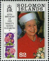 [The 65th Anniversary of the Birth of Queen Elizabeth II and the 70th Anniversary of the Birth of Prince Philip, Typ WH]