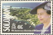 [The 40th Anniversary of Queen Elizabeth II's Accession, type XD]