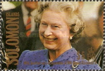 [The 40th Anniversary of Queen Elizabeth II's Accession, type XF]