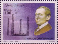 [Death of Guglielmo Marconi, type AJC]