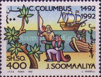 [The 500th Anniversary of the Discovery of America, type QL]