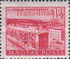 [Hungary Postage Stamp Overprinted, type D2]