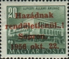 [Hungary Postage Stamp Overprinted, type D3]