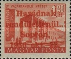 [Hungary Postage Stamp Overprinted, type D7]