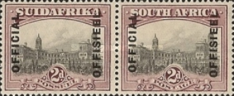 [Postage Stamps of 1927 Overprinted