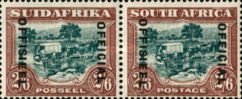 [Postage Stamps of 1930-1945 Overprinted