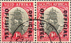 [Postage Stamps of 1933-1945 Overprinted