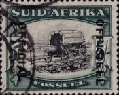 [Postage Stamps of 1933-1944 Overprinted