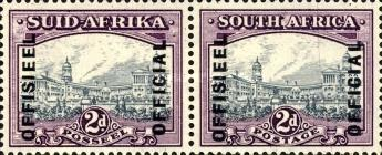 [Postage Stamps of 1944 Overprinted