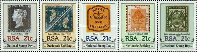 [National Stamp Day, Typ ]