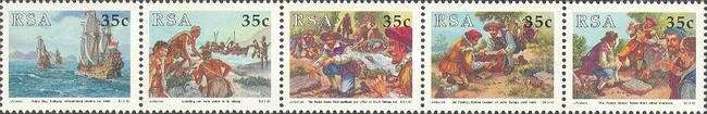 [National Stamp Day - Cape of Good Hope Postal Stones, Typ ]