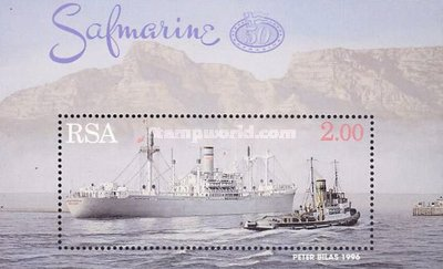 [The 50th Anniversary of South African Merchant Marine, Typ ]
