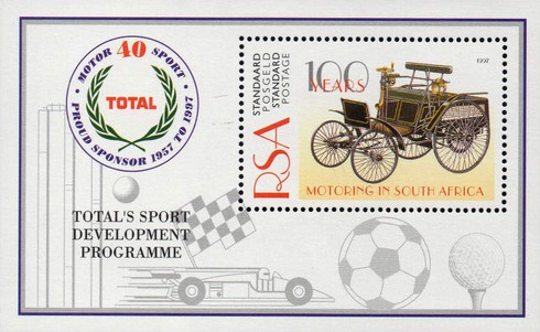 [The 100th Anniversary of the Automobile in South Africa, Typ ]