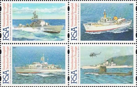 [The 75th Anniversary of South African Navy, Typ ]