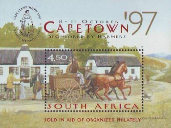 [Cape Town '97 National Stamp Show, Typ ]