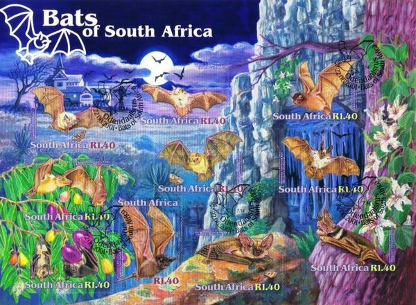 [Bats of South Africa - Self-Adhesive, Typ ]