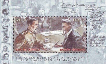 [The 100th Anniversary of the Anglo-Boer War - Treaty of Vereeniging, Typ ]