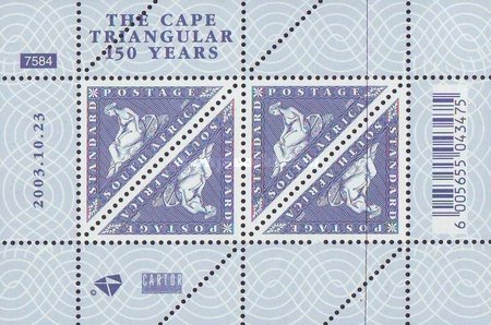 [The 150th Anniversary of the Cape Triangular Stamp, Typ ]