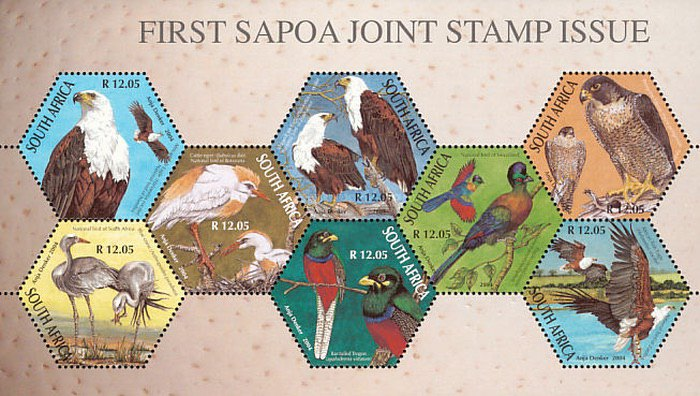 [First Joint Issue of Southern Africa Postal Operators Association Members, Typ ]