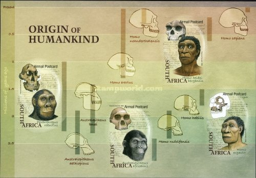 [Airmail - Origin of Humankind - Self-Adhesive Stamps, Typ ]