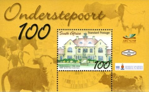 [The 100th Anniversary of Onderstepoort, Typ ]