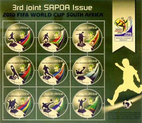 [Football World Cup - South Africa. The 3rd SAPOA Issue, Typ ]