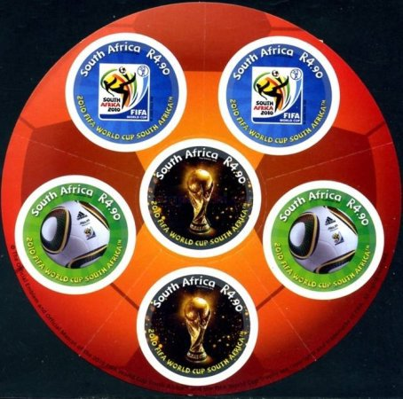[Football World Cup - South Africa. Self Adhesive Stamps, Typ ]