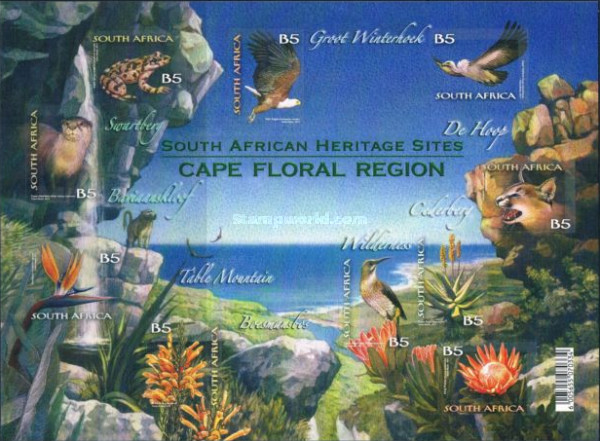[Flora & Fauna from the Cape Floral Region - Self Adhesive Stamps, Typ ]