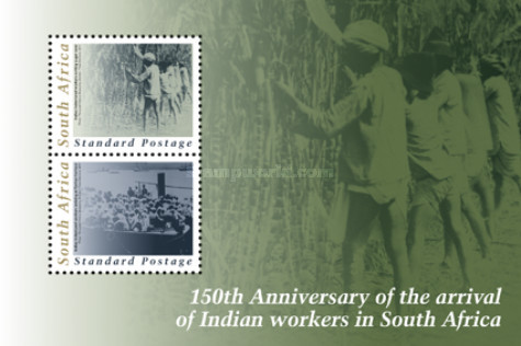 [The 150th Anniversary of the Arrival of Indian Indentured Labourers in South Africa, Typ ]