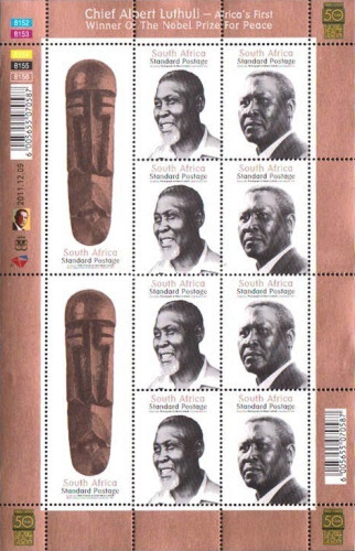 [Chief Albert John Luthili, 1898-1967 - Africa's First Winner of the Nobel Peace Prize, Typ ]
