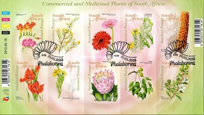 [Flora - Commercial and Medicinal Plants. Self Adhesive Stamps, Typ ]
