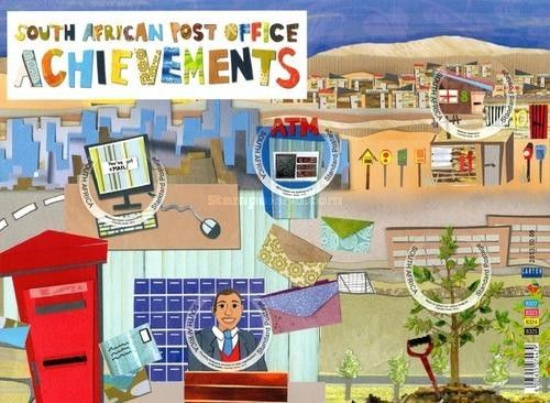[World Post Day - Achievements of the South African Post Office, Typ ]