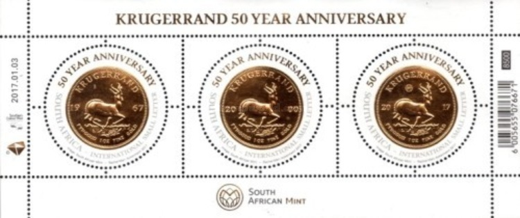 [The 50th Anniversary of the Krugerrand, Typ ]
