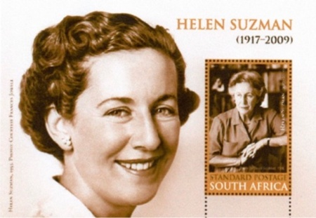 [The 100th Anniversary of the Birth of Helen Suzman, 1917-2009, Typ ]