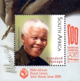 [Joint PAPU Issue - The 100th Anniversary of the Birth of Nelson Mandela, 1918-2013, Typ ]