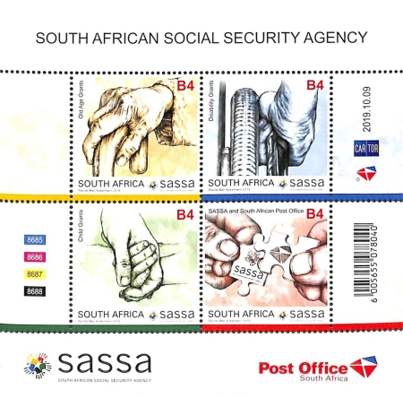 [The 25th Anniversary (2019) of the SASSA - Social Security Agency, type ]
