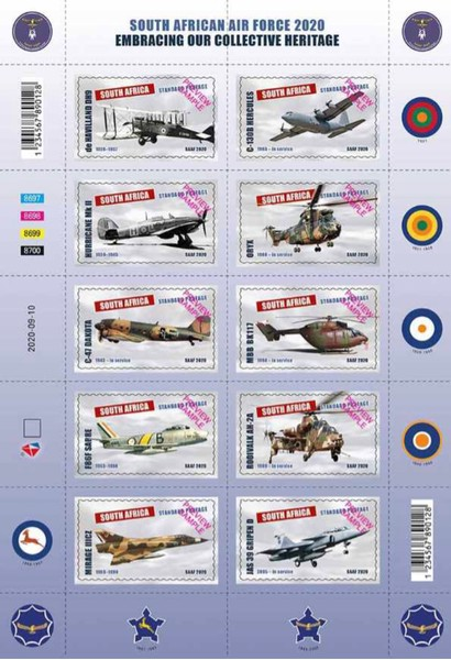 [The 100th Anniversary of the South African Air Force, type ]