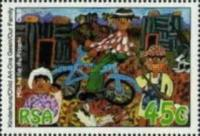 [International Year of the Family. Children's Paintings, Typ AFJ]