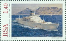 [The 50th Anniversary of South African Merchant Marine, Typ AIH]