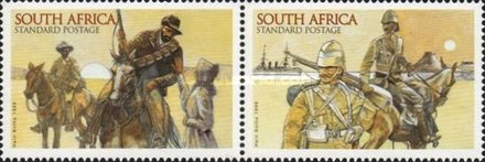 [The 100th Anniversary of the Anglo-Boer War, Typ AQS]