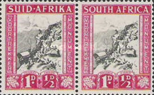 [Charity Stamps for the Voortrekker Monument - Country name in English or Afrikaans, Typ AU]