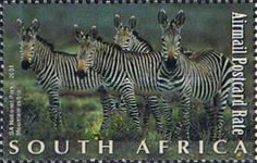 [Natural Wonders of South Africa, Typ AWJ]